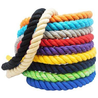 Colored Twisted Cotton Rope by FMS