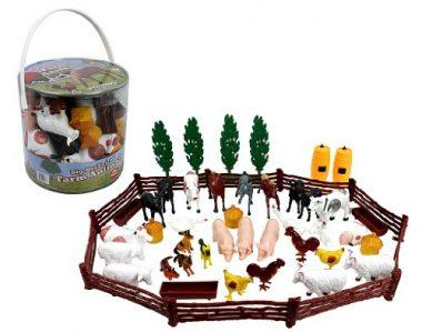 Farm Animal Action Figures by SCS Direct