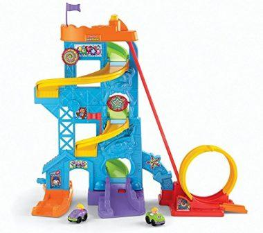 Little People Loops 'n Swoops Amusement Park Playset