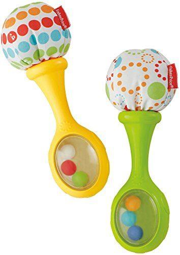 Rattle and Rock Maracas Musical Toy