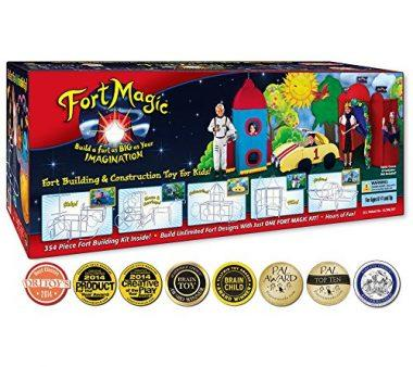 Fort Building & Construction Toy Kit by Fort Magic