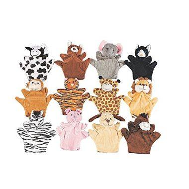 Animal Finger Puppets by Fun Express