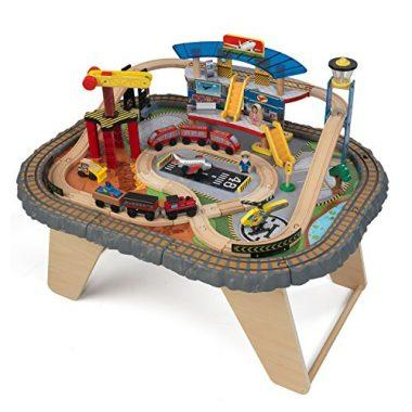 Transportation Station Train Set and Table Toy by KidKraft
