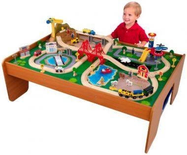 Ride Around Train Set and Table by KidKraft