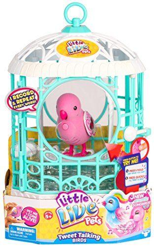 Bird with Cage – Ruby Belle by Little Live Pets