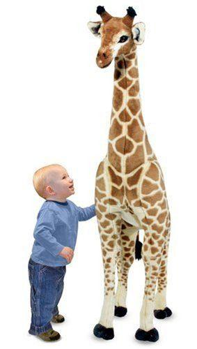 Giant Giraffe – Lifelike Stuffed Animal (over 4 feet tall) by Melissa & Doug