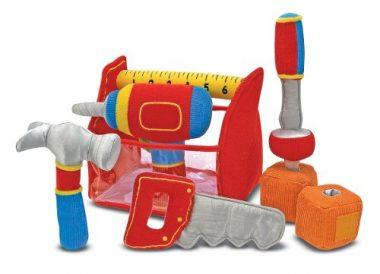 Toolbox Fill and Spill Toddler Toy With Vibrating Drill  by Melissa & Doug