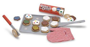 Slice and Bake Wooden Cookie Play Food Set by Melissa & Doug