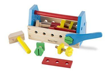Melissa & Doug Take-Along Tool Kit Wooden Construction Toy by Melissa & Doug