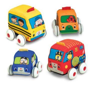 K's Kids Pull-Back Vehicle Set by Melissa & Doug