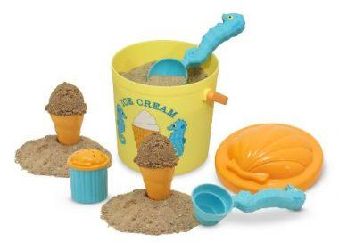 Sunny Patch Speck Seahorse Sand Ice Cream Play Set by Melissa & Doug