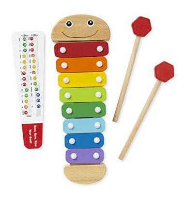 Caterpillar Xylophone Musical Toy With Wooden Mallets by Melissa & Doug