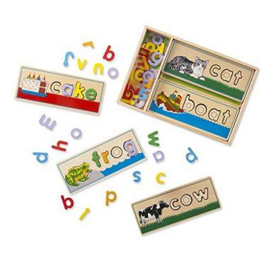 See & Spell Wooden Educational Toy by Melissa & Doug