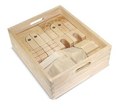 Architectural Wooden Unit Block Set by Melissa & Doug