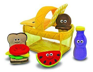 Deluxe Picnic Basket Fill and Spill Soft Baby Toy by Melissa & Doug