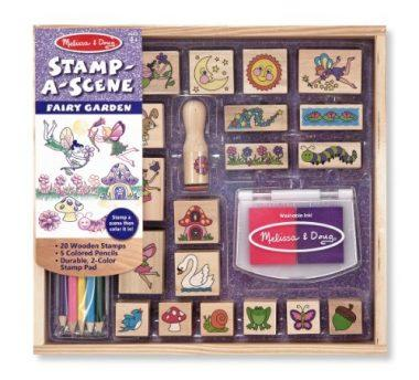 Stamp-a-Scene Stamp Pad: Fairy Garden by Melissa & Doug