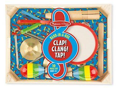 Band-in-a-Box Clap! Clang! Tap! by Melissa & Doug
