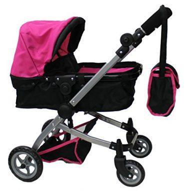Babyboo Doll Pram 9651B by Mommy & Me Doll Collection