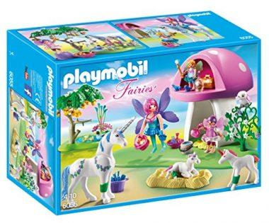 PLAYMOBIL Fairies with Toadstool House Building Kit
