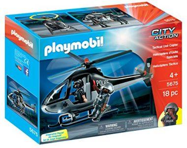 PLAYMOBIL Tactical Unit Copter Playset