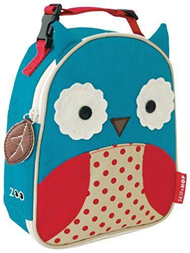 Baby Zoo Little Kid and Toddler Insulated and Water Resistant Lunch Bag by Skip Hop