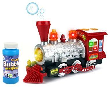 Steam Train Locomotive Engine Car by Velocity Toys