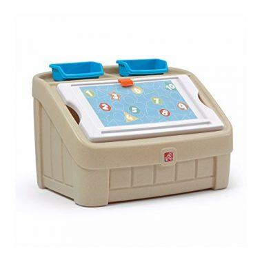 2-in-1 Toy Box and Art Lid