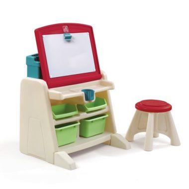 Flip and Doodle Desk with Stool Easel