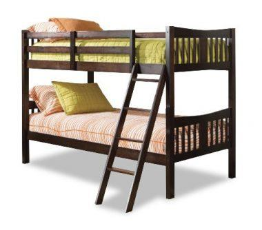 Caribou Solid Hardwood Twin Bunk Bed by Stork Craft