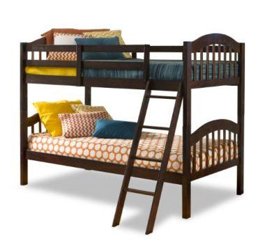 Long Horn Solid Hardwood Twin Bunk Bed by Stork Craft