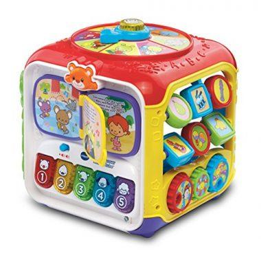 Sort and Discover Activity Cube by VTech