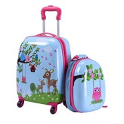 Goplus Kids Luggage Set