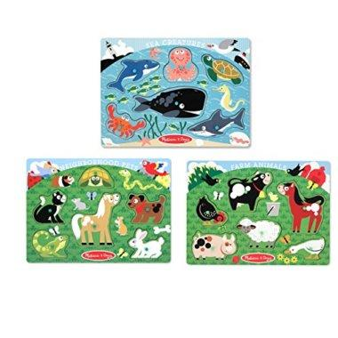 Melissa and Doug Animal Puzzles