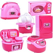Toy Kitchen Accessories Set