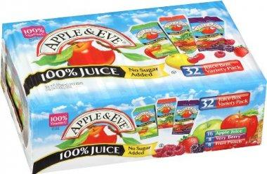 Apple & Eve 100% Juice Variety Pack