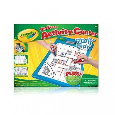 Crayola Dry-Erase Activity Center Zany Play Edition