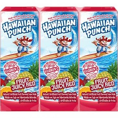 Hawaiian Punch Fruit Juicy Red 8 count