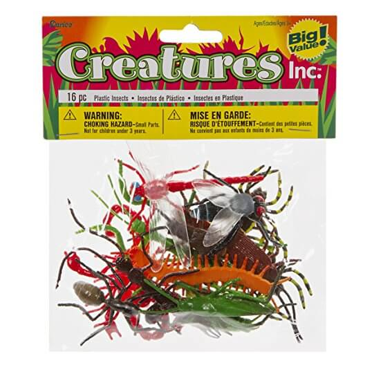 Darice Plastic Insects