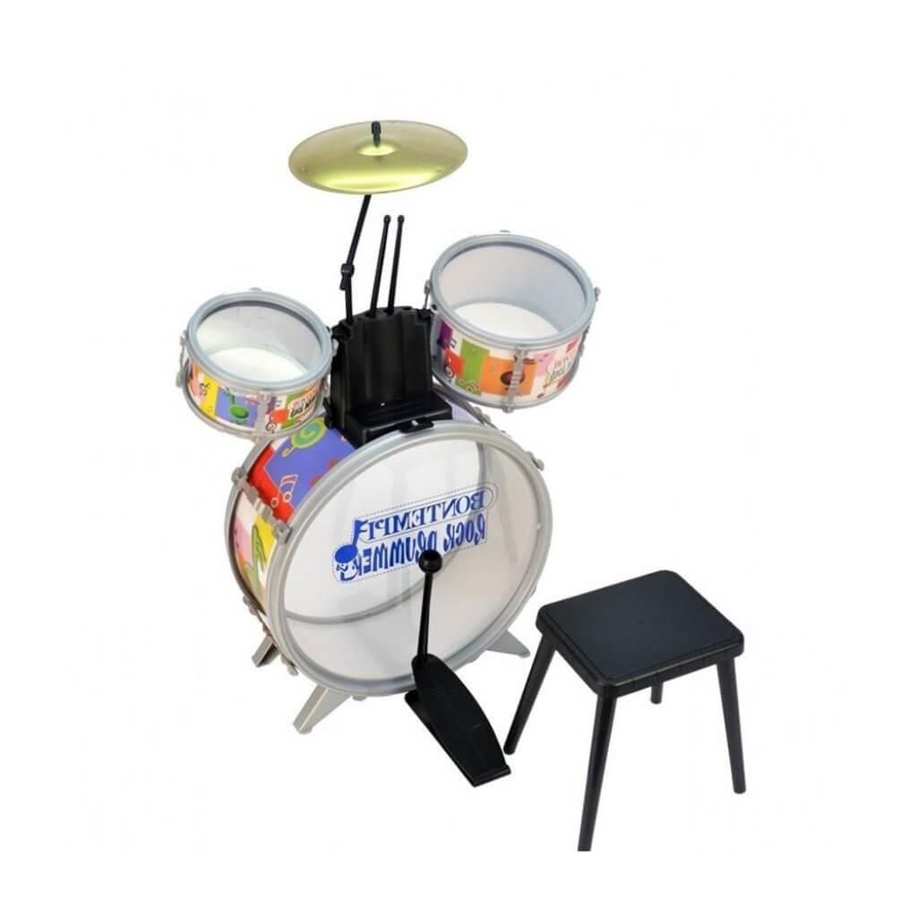 Bontempi Drum Set with Stool