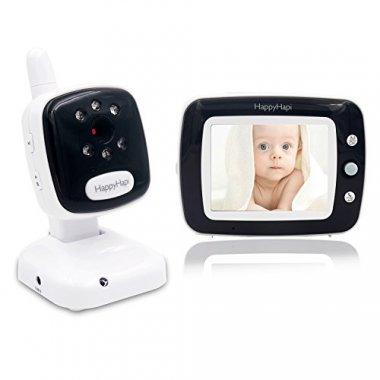 "Best Video Baby Monitor – HappyHapi 3.5"" LCD Camera"