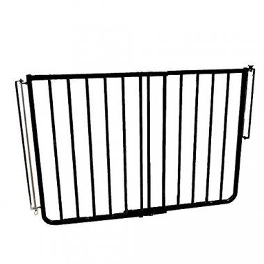 A pressure mounted gate that is great for both indoor and outdoor use.