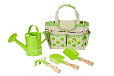 EverEarth Childrens Gardening Bag With Tools