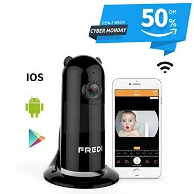 FREDI Baby Monitor Wireless WIFI Camera