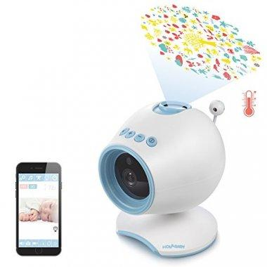 HOLABABY HD Video Baby Monitor Camera W/ Lullabies