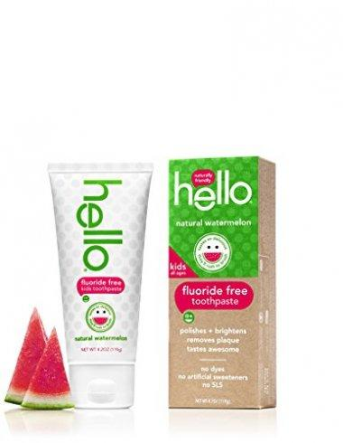 Hello Oral Care Fluoride Free Watermelon Toothpaste