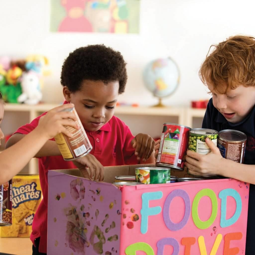 Kids-Making-Food-Drive-Holiday-Memory-Blog-Page