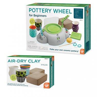 Pottery wheel with refill