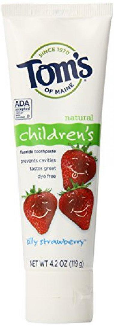 Tom's of Maine Anticavity Fluoride Strawberry Toothpaste