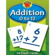 Addition 0 to 12 Brighter Child Flash Cards