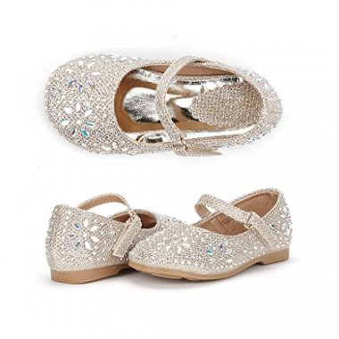 Dream Pairs Mary Jane Rhinestone Embelishment